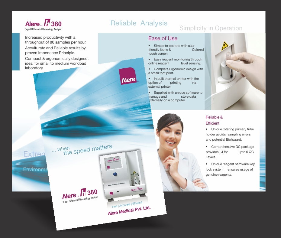 brochure for product