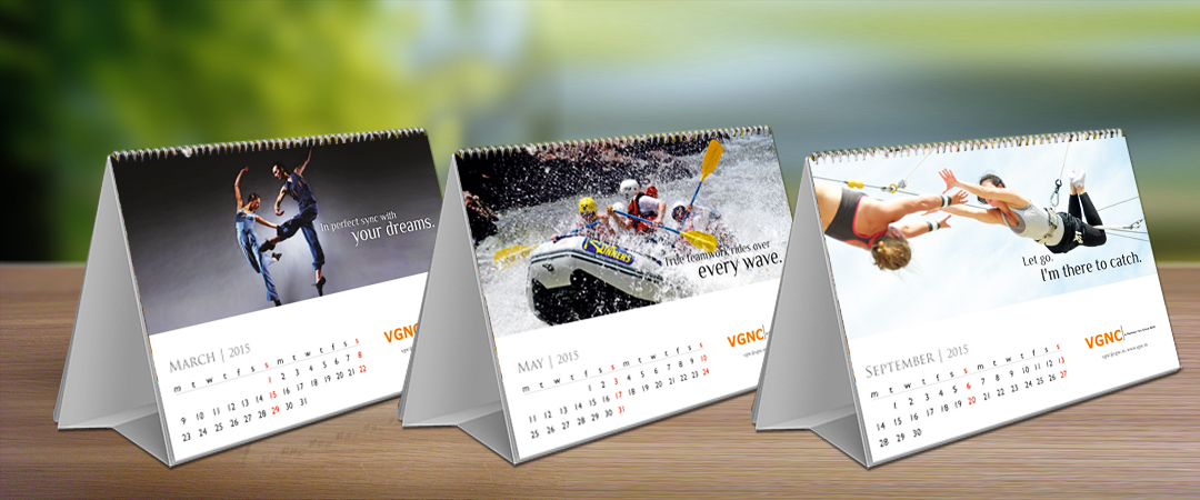 Table Calendar 3 Advertising Agency Gurgaon